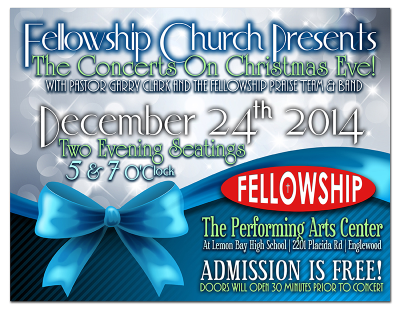 Fellowship Church Christmas Eve Concerts!
