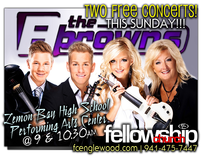 The Browns - FREE In Concert!